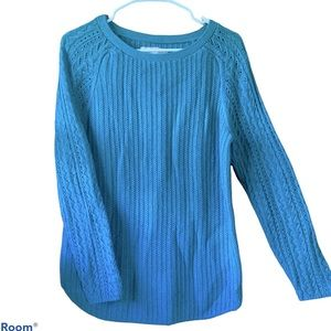 LOFT Knitted Crew Neck Sweater | S